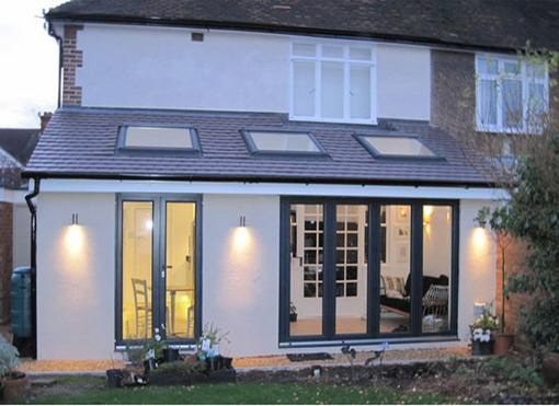 Single Storey Tiled Roof Sun Room. Example Price